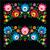 kwiatowy · cute · wektora · wzór · Polska · sztuki - zdjęcia stock © redkoala