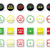 easy medium hard level with stars icons set stock photo © redkoala