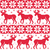 winter red seamless pattern with reindeer stock photo © redkoala