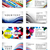 nowoczesne · czyste · działalności · materiały · biurowe · zestaw · projektu - zdjęcia stock © redshinestudio