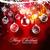 neşeli · Noel · yılbaşı · kar · tanesi · altın · Retro - stok fotoğraf © redshinestudio