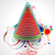 neşeli · Noel · yılbaşı · yaprak · etiket · star - stok fotoğraf © redshinestudio