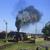 古い · レトロな · 蒸気 · 列車 · ヴィンテージ - ストックフォト © remik44992