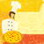 karikatür · şef · kadın · pizza - stok fotoğraf © retrostar