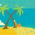 palmera · tropicales · desierto · isla · ilustración · Cartoon - foto stock © retrostar