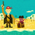 сокровище · острове · Cartoon · фантазий - Сток-фото © retrostar