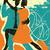 duas · pessoas · dança · tango · homem · casal · legal - foto stock © retrostar