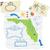 地図 · フロリダ · 旅行 · アメリカ · 米国 · 孤立した - ストックフォト © retrostar