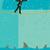 homem · de · negócios · equilíbrio · corda · esticada · arriscado · caminhada · guarda-chuva - foto stock © retrostar