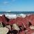 красный · пород · побережье · длительной · экспозиции · выстрел · морем - Сток-фото © rghenry