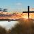 meer · kruis · zonsondergang · prachtig · kleur - stockfoto © rghenry