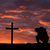 man in pray cross stock photo © rghenry