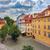 rosso · tetti · Praga · casa · città - foto d'archivio © rglinsky77