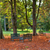 three benches in the autumnal park stock photo © rglinsky77