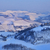 hills · pôr · do · sol · panorâmico · ver · montanhas · norte - foto stock © rglinsky77