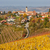 petite · ville · collines · Italie · vue · rouge · carrelage - photo stock © rglinsky77
