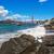 rocky shoreline and golden gate bridge in san francisco stock photo © rglinsky77