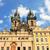 教会 · 女性 · プラハ · チェコ共和国 · 空 · 旅行 - ストックフォト © rglinsky77