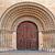 öreg · fából · készült · ajtó · bejárat · katolikus · templom - stock fotó © rglinsky77