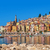 multicolored houses of menton france stock photo © rglinsky77