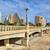 bridge over gardens of turia in valencia stock photo © rglinsky77