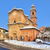 old church on the road piedmont italy stock photo © rglinsky77