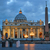 St · Peters · Basilica · noc · Rzym · Włochy · obraz · rzeki - zdjęcia stock © rglinsky77
