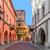 renkli · sokak · kasaba · Bina · renk - stok fotoğraf © rglinsky77