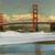 Golden · Gate · Bridge · reflexões · praia · San · Francisco · Califórnia · EUA - foto stock © rglinsky77