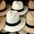 Brown and White Panama Hats stock photo © rhamm