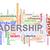 leiderschap · woord · Rood · kleur · wolk - stockfoto © ribah
