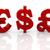 3D · farklı · semboller · 3d · illustration · dolar - stok fotoğraf © ribah