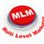 3D · mlm · botão · ilustração · 3d · nível · marketing - foto stock © ribah