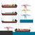 vektor · konténerhajó · állvány · részletes · konténer · tenger - stock fotó © ridjam