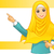 ムスリム · 女性 · 着用 · 白 · ベール · 腕 - ストックフォト © ridjam
