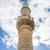 moskee · minaret · hemel · boom · wolken · stad - stockfoto © rmbarricarte