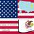 地図 · ルイジアナ州 · 旅行 · 赤 · アメリカ · 米国 - ストックフォト © robertosch