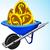 para · altın · madeni · Yıldız · jackpot · kazanmak · iş - stok fotoğraf © robertosch