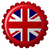 Zjednoczone · Królestwo · banderą · odizolowany · nowoczesne · cień · wektora - zdjęcia stock © robertosch