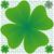 trevo · verde · grunge · quatro · folha · cópia · espaço - foto stock © robertosch