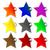 fresh star shaped labels stock photo © robertosch