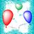happy valentine balloons stock photo © robertosch