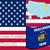 harita · Wisconsin · siyah · model · ABD · kare - stok fotoğraf © robertosch