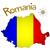 térkép · Romania · zászló · terv · művészet · felirat - stock fotó © robertosch