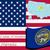 mapa · Delaware · padrão · américa · EUA · praça - foto stock © robertosch