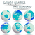 aarde · globes · wereldkaart · witte · abstract · vector - stockfoto © robertosch