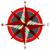 iránytű · szél · rózsa · vektor · izolált · illusztráció - stock fotó © robertosch