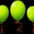 green balloons against black stock photo © robertosch