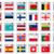 vektör · bayraklar · kuzey · merkezi · Amerika · ayarlamak - stok fotoğraf © robertosch