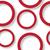 red shadowed circles pattern stock photo © robertosch
